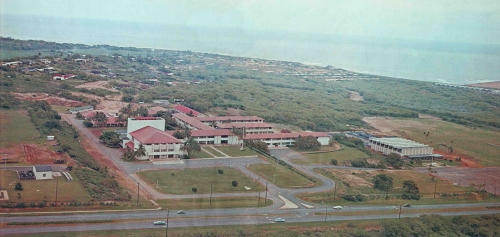 Henry Perrine Baldwin High School Campus 1966, Maui, Hawaii