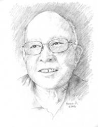 Warren Wong  8.5 x 11 Graphite Pencil