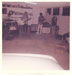 Jam sesion/practice for the upcoming 'Surfer's Concert & Talent Show' at the Baldwin Auditorium (1965)