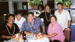 Sitting L-R: Richard Herlandez, William Romena, Paul Kaina, Mary Lou Santos.  Standing L-R: Charles Damaso, ?, Edwin Pim