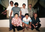 Front L-R: Howard Miyake, ?, Richard Cua  Back L-R: Richard Herlandez, Charles Damaso, Sabas Quiray, Edwin Pimentel