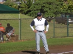 [2010 season] Renard Saiki on 3rd base....scored on Robin Tanaka's base hit.