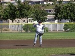 [2010 season] Renard Saiki playing at shortstop